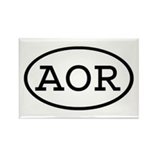 AOR Oval Rectangle Magnet
