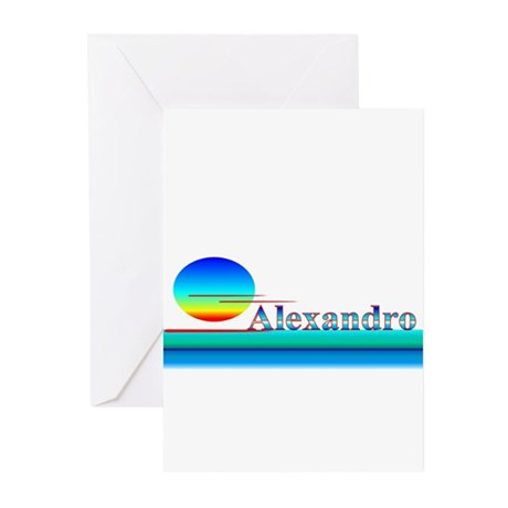 Alexandro Greeting Cards (Pk of 10)