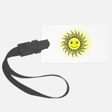 Smiling Sun Luggage Tag