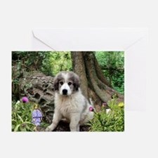 Alice Finds A Puppy Greeting Cards (Pk of 10)
