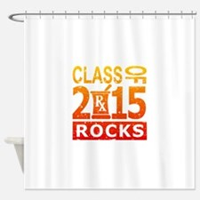 Class Of 2015 Pharmacy Rocks Shower Curtain
