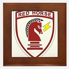 red_horse.png Framed Tile