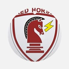 red_horse.png Ornament (Round)