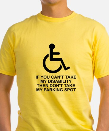 Can't take disability T