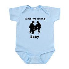 Sumo Wrestling Baby Body Suit
