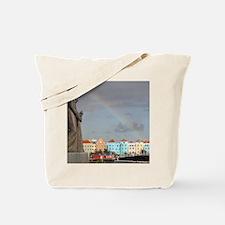 Curacao Rainbow Tote Bag