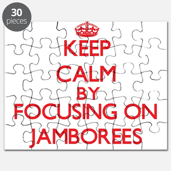 Keep Calm by focusing on Jamborees Puzzle