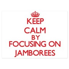 Keep Calm by focusing on Jamborees Invitations