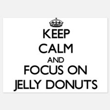 Keep Calm by focusing on Jelly Donuts Invitations
