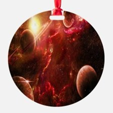 Red Solar System Ornament