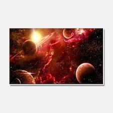 Red Solar System Car Magnet 20 x 12