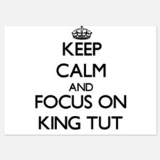 Keep Calm by focusing on King Tut Invitations