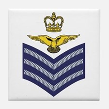 Flight Sergeant Aircrew<BR> Tile Coaster
