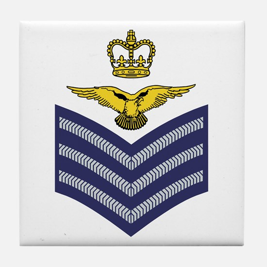 Flight Sergeant Aircrew<BR> Tile Coaster