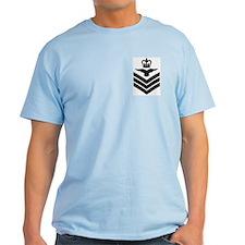Flight Sergeant Aircrew<BR> Blue T-Shirt
