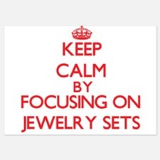 Keep Calm by focusing on Jewelry Sets Invitations