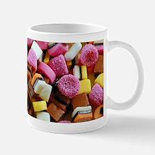 Colorful licorice candy Mugs