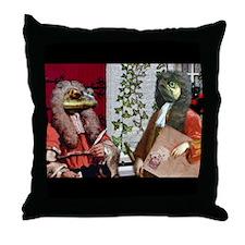 An Invitation Arrives Throw Pillow