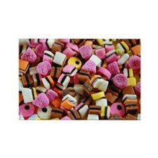 Colorful licorice candy Magnets