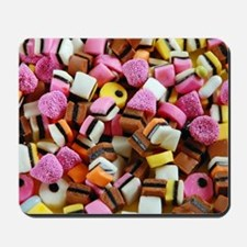 Colorful licorice candy Mousepad