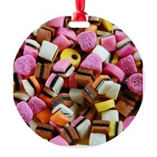 Colorful licorice candy Ornament