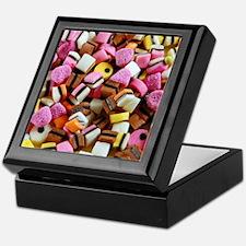 Colorful licorice candy Keepsake Box