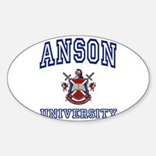 ANSON University Oval Decal