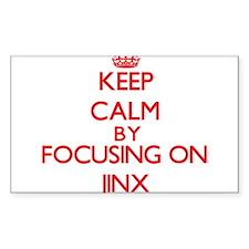 Keep Calm by focusing on Jinx Decal
