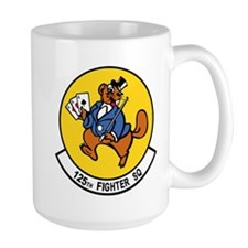 125_fighter_sq_patch Mugs