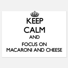 Keep Calm by focusing on Macaroni And Invitations