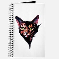 Cat Portrait Watercolor Style Journal