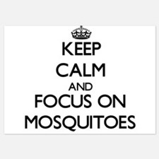 Keep Calm by focusing on Mosquitoes Invitations