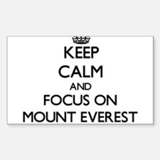 Keep Calm by focusing on Mount Everest Decal