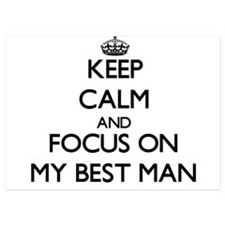Keep Calm by focusing on My Best Man Invitations