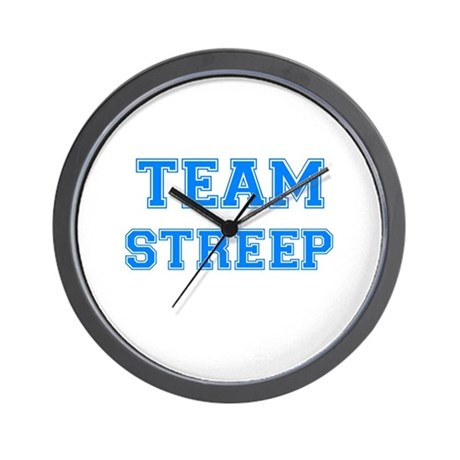 TEAM STREEP Wall Clock