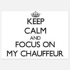 Keep Calm by focusing on My Chauffeur Invitations
