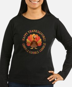Happy Thanksgiving Turkey Long Sleeve T-Shirt