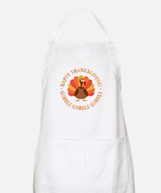 Happy Thanksgiving Turkey Apron