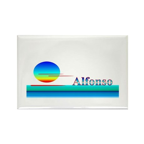 Alfonso Rectangle Magnet (10 pack)