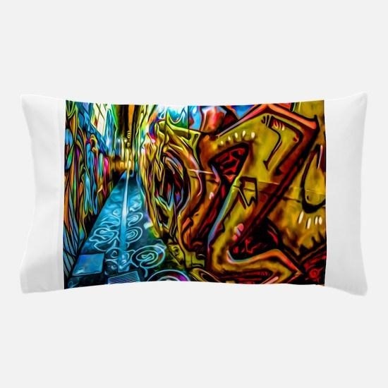 Graffiti Alley Pillow Case
