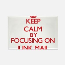 Keep Calm by focusing on Junk Mail Magnets