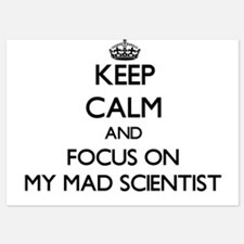 Keep Calm by focusing on My Mad Scient Invitations