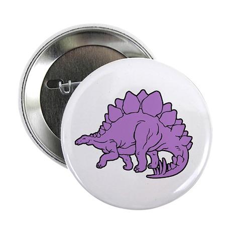 Stegosaurus Button