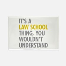 Law School Thing Rectangle Magnet