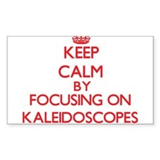 Keep Calm by focusing on Kaleidoscopes Decal