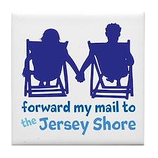 Jersey Shore Tile Coaster