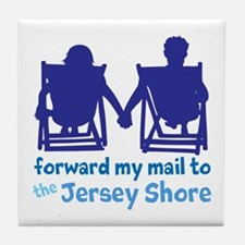 Jersey Shore Tile Coaster