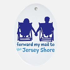 Jersey Shore Ornament (Oval)