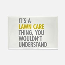 Lawn Care Thing Rectangle Magnet