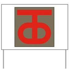 90th Infantry Division.png Yard Sign